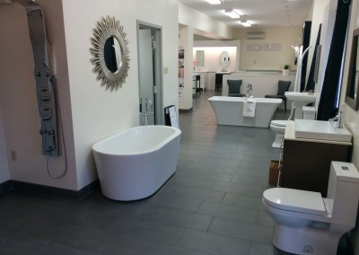 Halifax showroom - bathtub