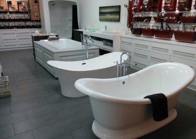 Halifax showroom - tubs